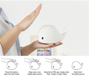 Ihrtrade Cute Dolphin Touch Night Light