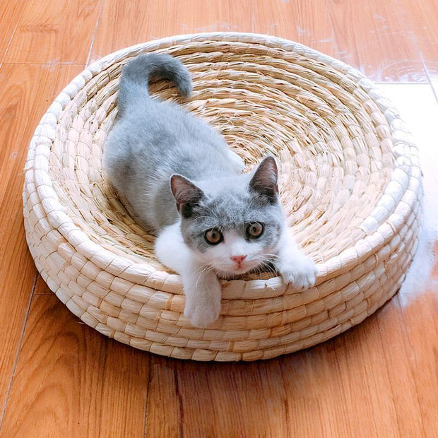 Ihrtrade Bowl Shape Cat Weaving Scratching Post (4 sizes)