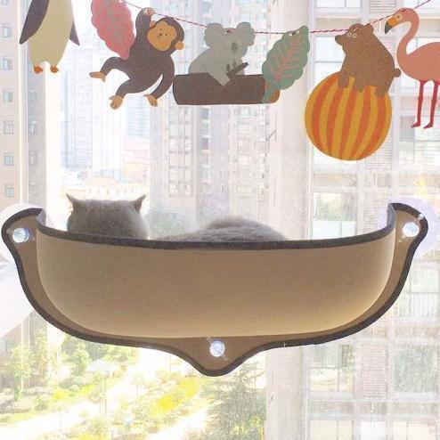 Ihrtrade Window Mounted Cat Perch (2 colors)