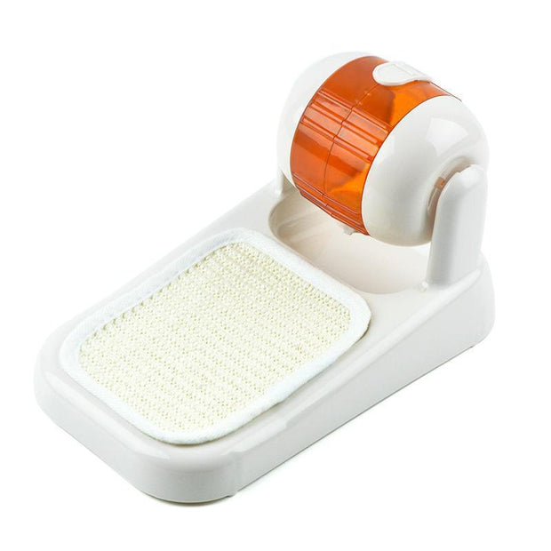Ihrtrade Cat Scratch Roller Style Leak Food Feeder (3 colors)