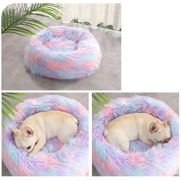 Ihrtrade Colorful PV Plush Round Nest