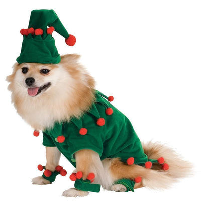 Ihrtrade Cosplay Elves Dog Funny Gold Velvet Coat