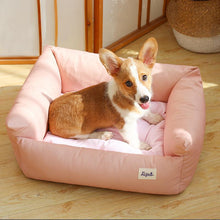 Load image into Gallery viewer, Ihrtrade Cotton Morandi Color Dog's Sofa Bed (4 colors & 3 sizes)