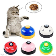 Ihrtrade Creative Cat Dog Feeding Dinner Bell Toy Pet Training Ring Bell (6 Colors)