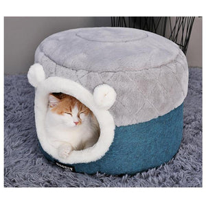 Ihrtrade Cute Winter Thick Cat House (2 sizes)