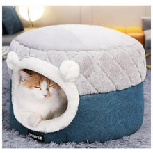 Load image into Gallery viewer, Ihrtrade Cute Winter Thick Cat House (2 sizes)