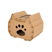 Ihrtrade DIY Corrugated Paper Cat Grinding Claws Nest