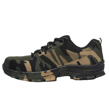 IHRtrade Military Soldier Shoes, Safety Work Shoes For Men & Women