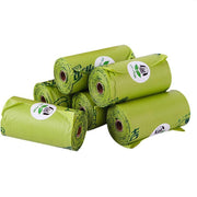 Ihrtrade Degradable Pet 16 Rolls Trash PE Bag With 1 Pc Dispenser