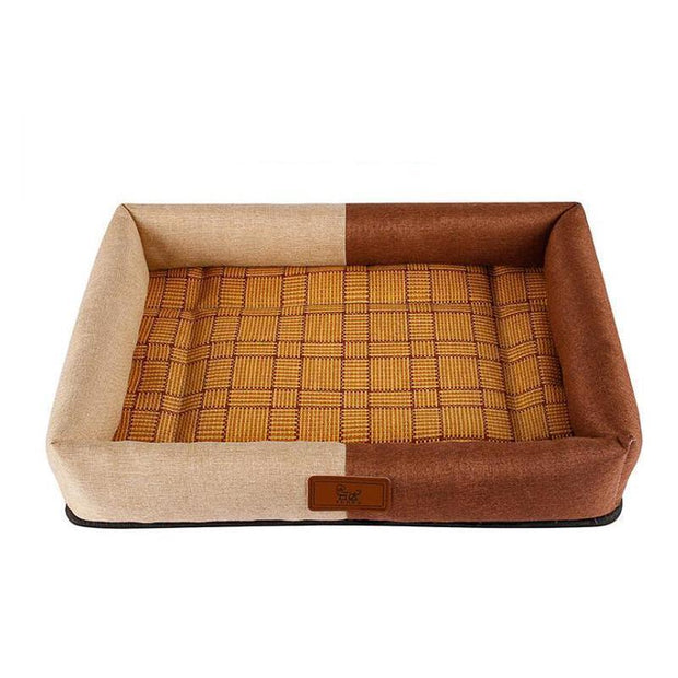 Ihrtrade Dog Bed Cushion Pet Rattan Mat Nest ( 2 colors & 4 sizes)
