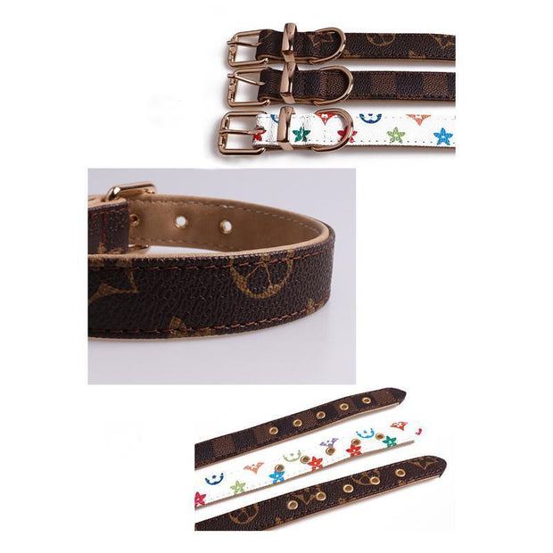 Ihrtrade Dog Collar Fashion Adjustable Neck Strap (3 colors & 5 sizes)