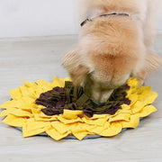 Ihrtrade Dog Eatting Training Pad Sunflower