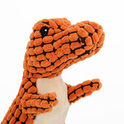 Ihrtrade Dog's Dinosaur Sound And Chew Toy (3 colors & 2 sizes)