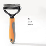 Ihrtrade Double Blade Depilate Comb Dog/Cat Grooming (3 Colors & 2 Types)