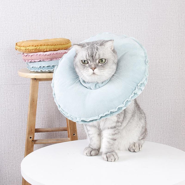 Ihrtrade Doughnut Protecting Cover Wound Healing Collar (3 colors & 2 sizes)