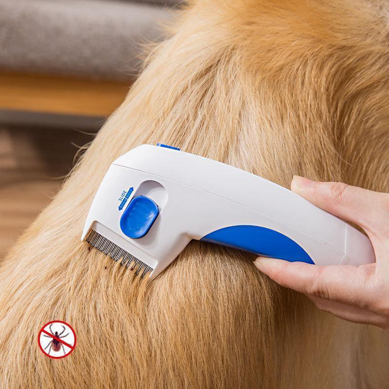 Ihrtrade Electric Pet Flea Lice Cleaner Comb Pet Care Grooming