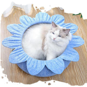 Ihrtrade Flower Felt Cloth Anti-wrinkle Cat Nest (3 colors)