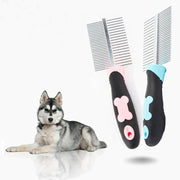Ihrtrade Fur Care Double Row Pets Comb (2 colors)