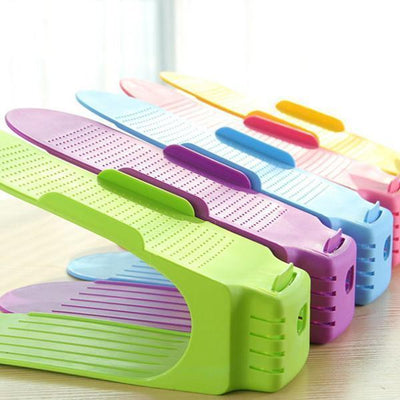 Ihrtrade Easy Magic Shoes Organizer-Double your shoe storage space in a snap! (5 pcs in one package)