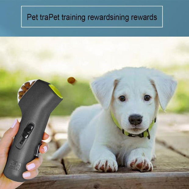 Ihrtrade Dog Snack Catapult Launcher Pets Food Snacks Outdoor Dog Training Tool