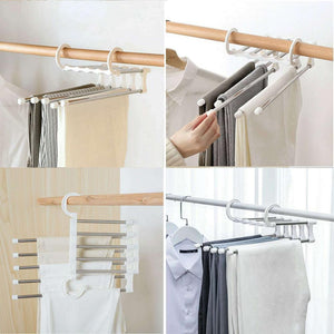 Ihrtrade Multifunctional stainless steel hangers (2pcs)