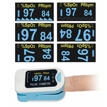 Load image into Gallery viewer, Ihrtrade™ Pulse Oximeter SpO2 Finger Heart Rate Monitor