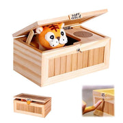 Ihrtrade New Electronic Useless Box with Sound Cute Tiger Toy