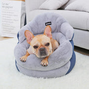 Ihrtrade High Backrest Warm Dog Bed (2 sizes)