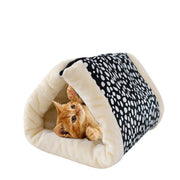 Ihrtrade Indoor Kitten Warm Foldable House (4 colors)