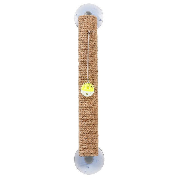 Ihrtrade Jute Sucker Cat Climbing Wall Scratcher Toy
