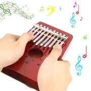 Ihrtrade 10 Keys Portable Thumb Piano (2 Colors),Garden Light Solar