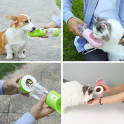 Ihrtrade Leak-Proof Dog Water Bottle With Food Container (4 colors)