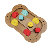 Ihrtrade Leak Food Toy Puzzle Game Training Toy For Dog (2 Types)