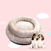 Ihrtrade Machine Washable Bone Dog Bed (2 sizes)