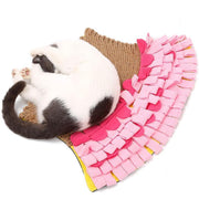 Ihrtrade Mermaid Sniffing Pad Cat Grinds Paw Carpet