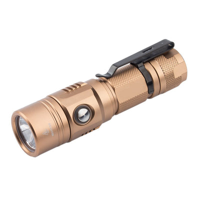 Soonfire 1000 Lumen USB Rechargeable Tactical Flashlight with CREE XP-L LED 18650 battery
