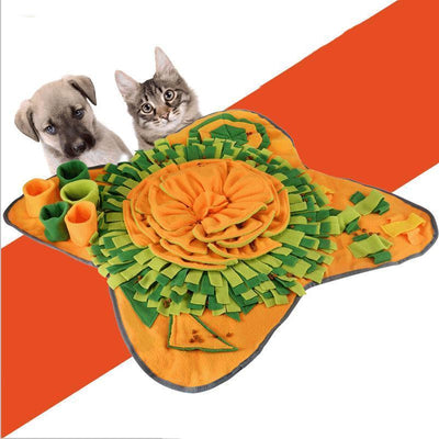 Ihrtrade New Flower Foldable Dog Snuffle Mat