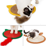 Ihrtrade New Lovely Cartoon Animal Cat Scratching Mat (3 sizes)
