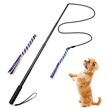 Load image into Gallery viewer, Ihrtrade New Telescopic Dog Teaser Training Stick (3 colors & 2 sizes)