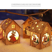 Ihrtrade Christmas Decor Hanging LED House