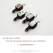 Ihrtrade Two-In-One Retractable Car Charger (4 colors)