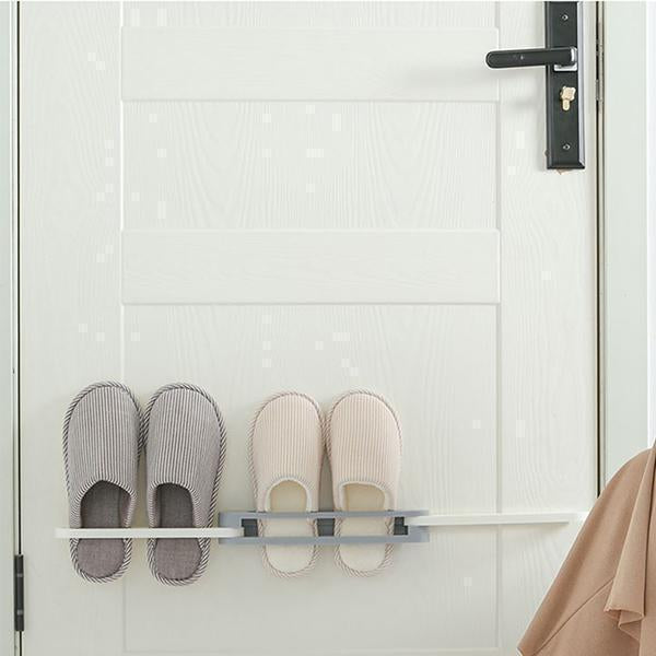 Ihrtrade Wall Mounted Folding Slippers Rack (3 colors)