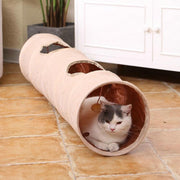 Ihrtrade Oxford Cloth Foldable Cat Tunnel