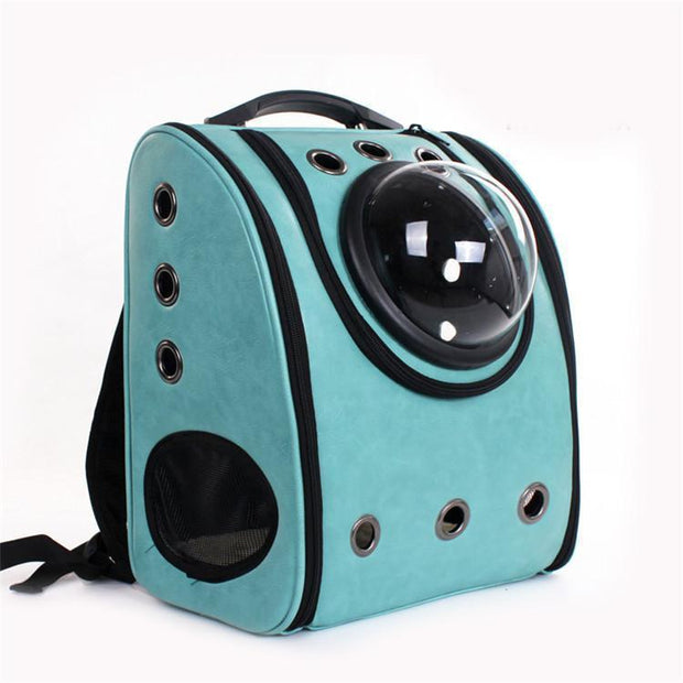 Ihrtrade PU Backpack Space Capsule Small Cat carrying (4 colors)