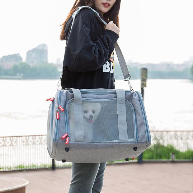 Ihrtrade Pet Shoulder Bag Dog Outing Portable Handbag