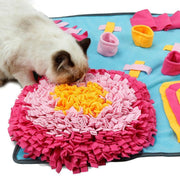 Ihrtrade Pet Snuffle Mat Anti Choke Slow Feeder Training Pad (3 Types & 3 Sizes)
