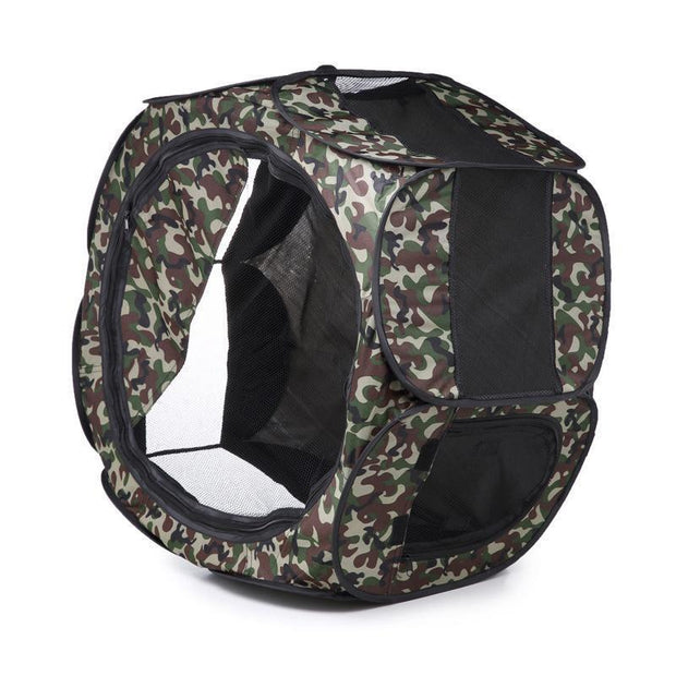 Ihrtrade Portable Folding Pet Tent Octagon Playpen (6 colors & 2 sizes)