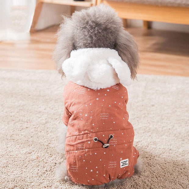 Ihrtrade Puppy's Winter Thermal Cotton Coat (2 colors & 6 sizes)