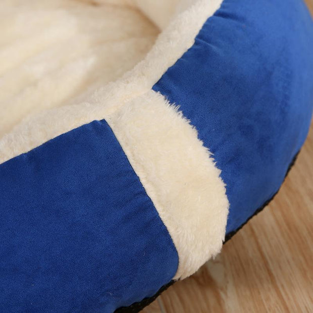 Ihrtrade Removable Pad Cat And Dog Sleeping Bed (2 colors & 3 sizes)