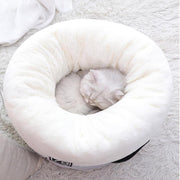 Ihrtrade Round Shape Cat Deep Sleep Nest (2 colors & 2 sizes)